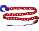 "Grade ""8"" skidding chain set - 8mm"