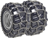 "LARGER IMAGE - ""Skidder Flexi"" snow chain for forest tractors"